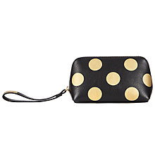 Buy John Lewis Liv Leather Travel Wristlet Online at johnlewis.com