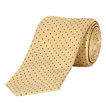 Buy Jaeger Silk Pin Dot Tie Online at johnlewis.com