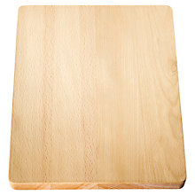 Buy Blanco Classic Wooden Chopping Board, 37x25cm Online at johnlewis.com