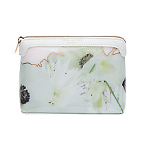 Buy Ted Baker Florinn Pearly Petal Makeup Bag, Ash Online at johnlewis.com