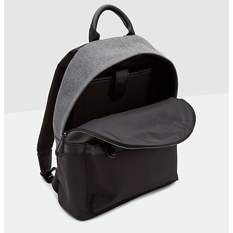 buy ted baker seata nylon backpack black john lewis. Black Bedroom Furniture Sets. Home Design Ideas
