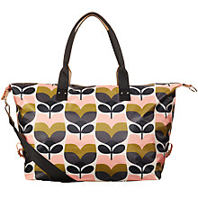 Buy Orla Kiely Stripe Rosebud Print Holdall Online at johnlewis.com