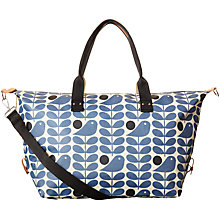 Buy Orla Kiely Early Bird Holdall, Prussian Blue Online at johnlewis.com