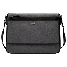 Buy Ted Baker Nano Nylon Messenger, Grey Online at johnlewis.com