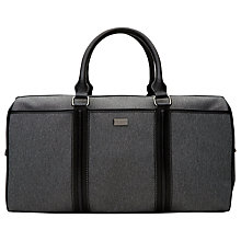 Buy Ted Baker Movies Nylon Holdall, Grey Online at johnlewis.com