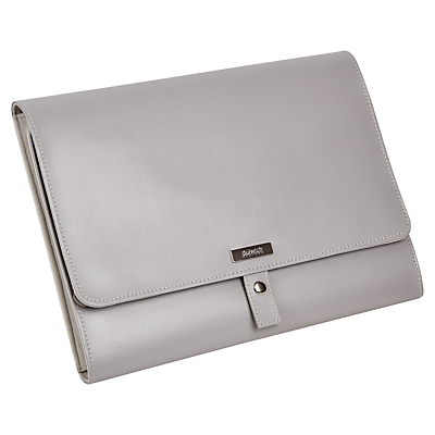 Dulwich Designs Jewellery Roll, Grey