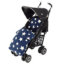 Buy John Lewis Baby Multi Star Pushchair Footmuff Online at johnlewis.com