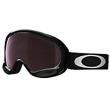 Buy OAKLEY OO7044 Prizm A-Frame 2.0 Goggles, Black/Iridium Online at johnlewis.com