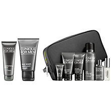 Buy Clinique For Men Face Wash and Moisturising Lotion with Bonus Time for Men Online at johnlewis.com