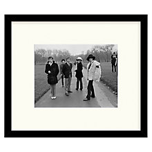 Buy Getty Images Gallery - Park Stones Framed Print, 49 x 57cm Online at johnlewis.com