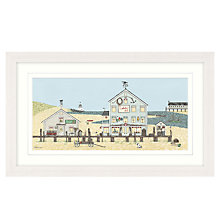 Buy Sally Swannell - Lobster Pot Large Framed Print, 78 x 48cm Online at johnlewis.com