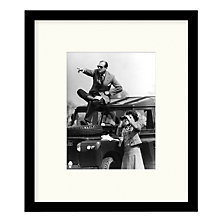 Buy Getty Images Gallery - Royal Watchers Framed Print, 49 x 57cm Online at johnlewis.com