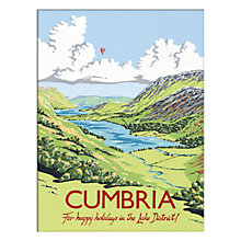 Buy Kelly Hall - Cumbria Unframed Print with Mount, 30 x 40cm Online at johnlewis.com