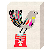 Buy Inaluxe - Bird Canvas Print, 20 x 15cm Online at johnlewis.com
