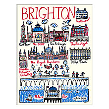 Buy Julia Gash - Brighton Unframed Print with Mount, 30 x 40cm Online at johnlewis.com