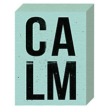 Buy Nick Cranston - Calm Canvas Print, 20 x 15cm Online at johnlewis.com