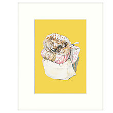 Buy Beatrix Potter - Mrs Tiggy-Winkle Framed Print, 27 x 33cm Online at johnlewis.com