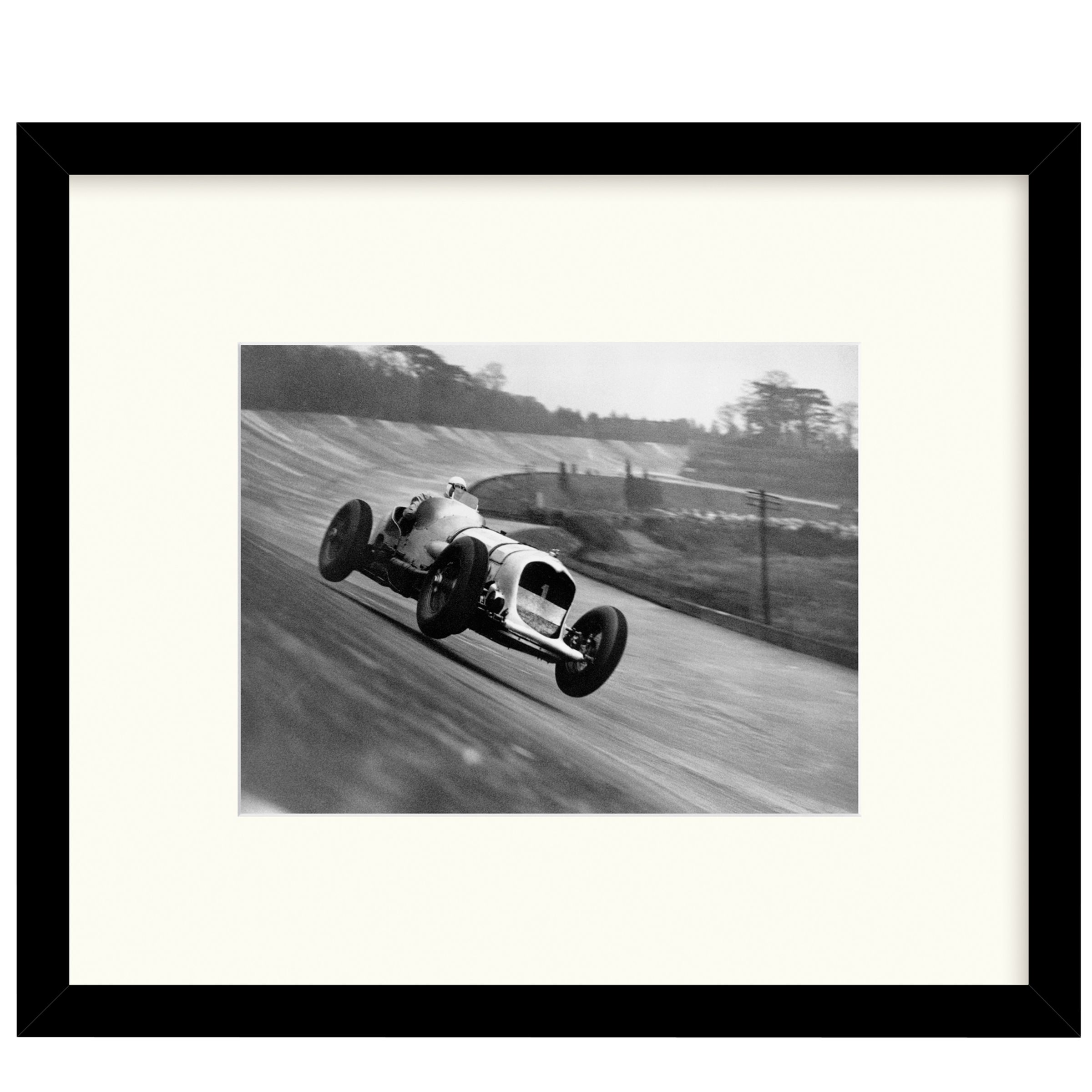 Getty Images Gallery Getty Images Gallery - John Cobb Racing Framed Print, 49 x 57cm