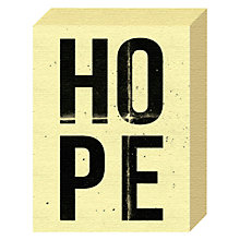 Buy Nick Cranston - Hope Canvas Print, 20 x 15cm Online at johnlewis.com