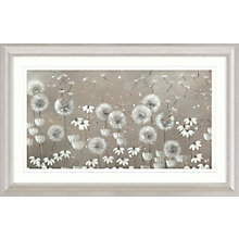 Buy Kaye Lake - Day Dreaming Dandelions Framed Print, 110.5 x 55.5cm Online at johnlewis.com