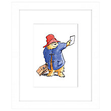 Buy Peggy Fortnum - Paddington Discovery Framed Print, 27 x 33cm Online at johnlewis.com
