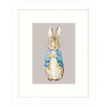 Buy Beatrix Potter - Peter Rabbit Framed Print, 27 x 33cm Online at johnlewis.com