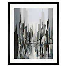 Buy Gregory Lang - The Walking Bridge,  49 x 59cm Online at johnlewis.com