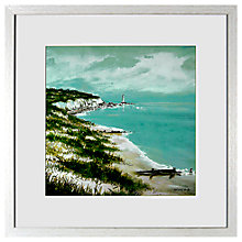 Buy Anthony Waller - White Sand Bay Framed Print, 48 x 48cm Online at johnlewis.com