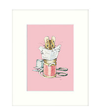 Buy Beatrix Potter - Tailor of Gloucester Framed Print, 27 x 33cm Online at johnlewis.com