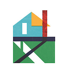 Buy House by John Lewis - Marcus Walters - Ojai Canvas Print, 40 x 30cm Online at johnlewis.com