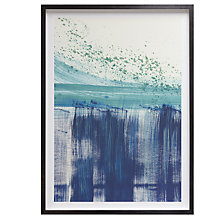 Buy Denise Duplock - Blue Splash Framed Print, 70 x 51cm Online at johnlewis.com