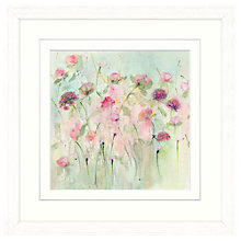 Buy Sue Fenlon - Peonies And Roses Framed Print, 37 x 37cm Online at johnlewis.com