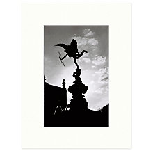 Buy Barbara Chandler - Piccadilly Circus 1989 Unframed Print, 30 x 40cm Online at johnlewis.com