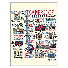 Buy Julia Gash - Cambridge Unframed Print with Mount, 30 x 40cm Online at johnlewis.com