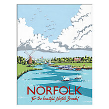 Buy Kelly Hall - Norfolk Unframed Print with Mount, 30 x 40cm Online at johnlewis.com
