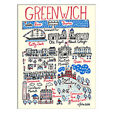 Buy Julia Gash - Greenwich Unframed Print with Mount, 30 x 40cm Online at johnlewis.com