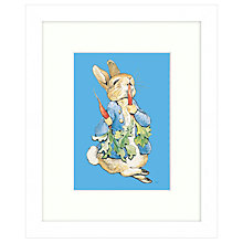 Buy Beatrix Potter - Peter Rabbit With Radish Framed Print, 27 x 33cm Online at johnlewis.com