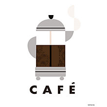 Buy Clare Owen - Café Unframed Print, 24 x 30cm Online at johnlewis.com