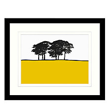 Buy Jacky Al-Samarraie - Skipton Yellow, Framed Print, 44 x 54cm Online at johnlewis.com