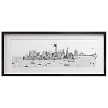 Buy Charlene Mullen - Day New York, Framed Print, 41 x 98cm Online at johnlewis.com