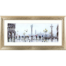 Buy Richard Macneil - St Marco Reflection Framed Print, 112 x 57cm Online at johnlewis.com