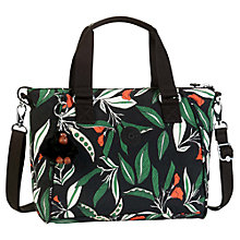 Buy Kipling Amiel Medium Handbag, Latin Flower Online at johnlewis.com