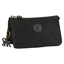 Buy Kipling Creativity Large Purse, Black Leaf Online at johnlewis.com