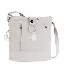 Buy Kipling Dalila Medium Shoulder Bag, Dazz Cream Online at johnlewis.com