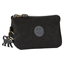 Buy Kipling Creativity Small Purse, Black Leaf Online at johnlewis.com