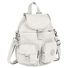Buy Kipling Medium Firefly N Backpack, Dazz Cream Online at johnlewis.com