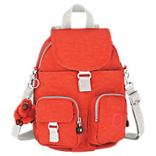 Buy Kipling Medium Firefly N Backpack, Coral Rose Online at johnlewis.com