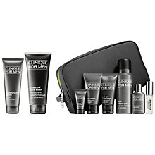 Buy Clinique for Men Charcoal Face Wash and Moisturising Lotion with Bonus Time for Men Online at johnlewis.com