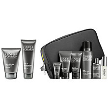 Buy Clinique Face Scrub and Protect SPF 21 with Bonus Time for Men Online at johnlewis.com