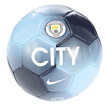 Buy Nike Manchester City Skills Football, Size 1, Blue/White Online at johnlewis.com